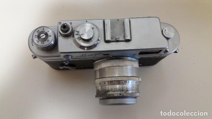 Cámara de fotos: CÁMARA DE FOTOS MIR FABRICADA EN LA URSS. RUSIA RUSA - Foto 4 - 116125455