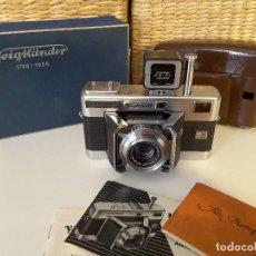 Cámara de fotos: VOIGTLANDER VITESSA L, 200 ANIVERSARIO, 1956. IMPECABLE.. Lote 116451031