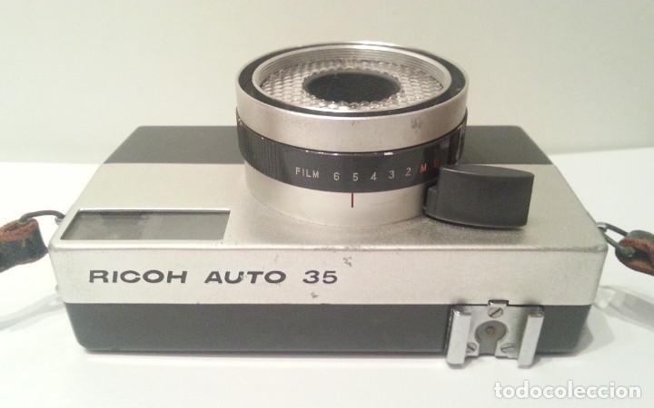 Cámara de fotos: RICOH AUTO 35 DE 1960, CON FLASH Y FUNDAS. MADE IN JAPAN - Foto 14 - 116729427