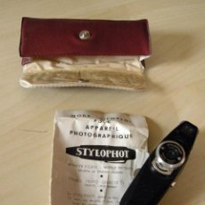 Cámara de fotos - Stylophot Standard (f6,3-8-11) - RARA - Cámara miniatura - 16 mm. - año 1955 - completa - 116922099