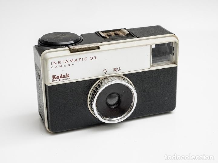 KODAK INSTAMATIC 33 FORMATO 126 (Cámaras Fotográficas - Clásicas (no réflex))