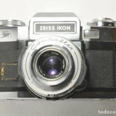Cámara de fotos: ZEISS IKON CONTAFLEX SUPER BC CON TESSAR 2.8/50 Y FUNDA. Lote 118333559