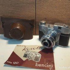 Cámara de fotos: BENCINI KOROLL, PRIMER MODELO, 1951. Lote 118595263