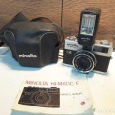 Cámara de fotos: MINOLTA HI-MATIC F DE 1973. Lote 118596291