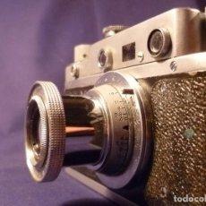 Cámara de fotos: CAMARA ZORKI C TIPO LEICA - SOVIÉTICA - RUSA - URSS. Lote 118993191