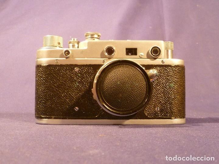Cámara de fotos: CAMARA ZORKI C TIPO LEICA - SOVIÉTICA - RUSA - URSS - Foto 12 - 118993191