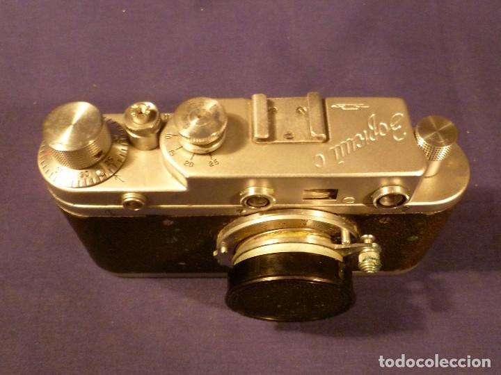 Cámara de fotos: CAMARA ZORKI C TIPO LEICA - SOVIÉTICA - RUSA - URSS - Foto 13 - 118993191