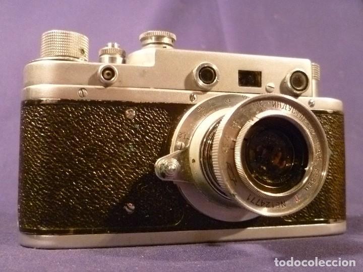 Cámara de fotos: CAMARA ZORKI C TIPO LEICA - SOVIÉTICA - RUSA - URSS - Foto 14 - 118993191