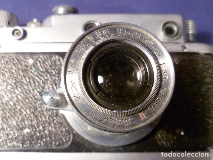 Cámara de fotos: CAMARA ZORKI C TIPO LEICA - SOVIÉTICA - RUSA - URSS - Foto 18 - 118993191