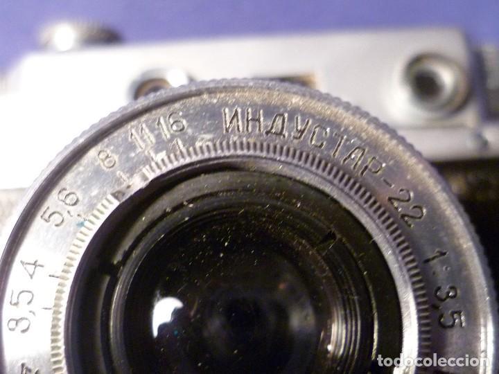 Cámara de fotos: CAMARA ZORKI C TIPO LEICA - SOVIÉTICA - RUSA - URSS - Foto 19 - 118993191
