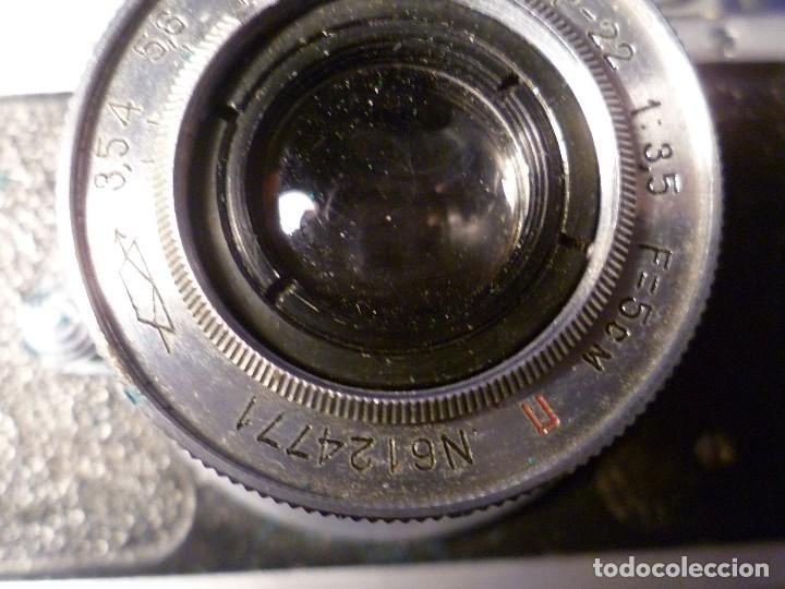 Cámara de fotos: CAMARA ZORKI C TIPO LEICA - SOVIÉTICA - RUSA - URSS - Foto 20 - 118993191