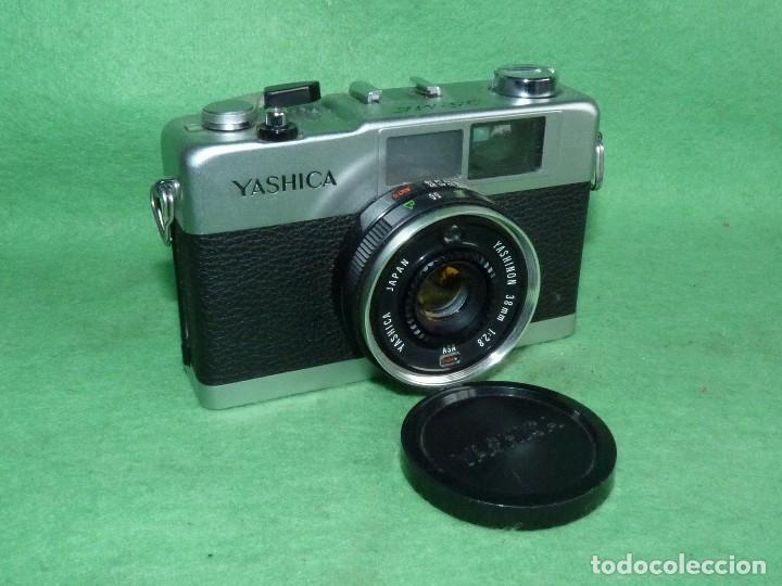 GENIAL CÁMARA YASHICA ME 35 OBJETIVO YASHINON 38 MM F/2.8 ORIGINAL MADE IN JAPAN 1972 (Cámaras Fotográficas - Clásicas (no réflex))