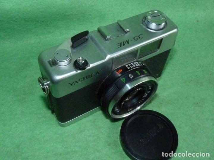 Cámara de fotos: Genial cámara Yashica ME 35 objetivo Yashinon 38 mm F/2.8 original Made in Japan 1972 - Foto 2 - 119030995