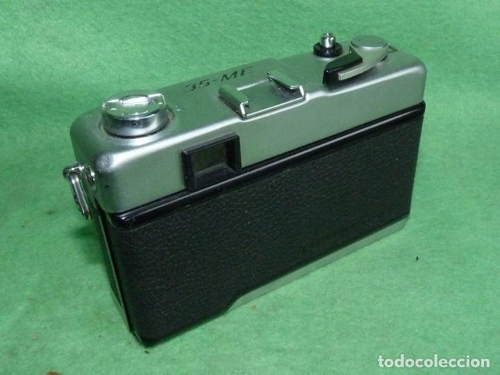 Cámara de fotos: Genial cámara Yashica ME 35 objetivo Yashinon 38 mm F/2.8 original Made in Japan 1972 - Foto 3 - 119030995