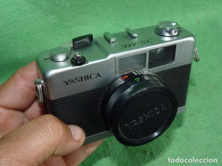 Cámara de fotos: Genial cámara Yashica ME 35 objetivo Yashinon 38 mm F/2.8 original Made in Japan 1972 - Foto 7 - 119030995