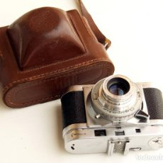 Cámara de fotos: *C1956* • AGILUX UK AGIMATIC TELEMÉTRICA • COMPACTA 35MM OBJ. F2.8 (CON FUNDA). Lote 119038255