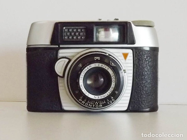 Cámara de fotos: Franka Werke 125 objetivo Prontor. Made in West Germany - Foto 2 - 49327274
