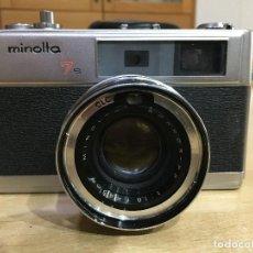 Cámara de fotos: MINOLTA HI-MATIC 7S . Lote 121454851