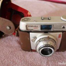 Cámara de fotos: CAMARA WERLISA COLOR LAOTAR 1:2,8/45MM ANASTIGMATICO CON FUNDA. Lote 122259523