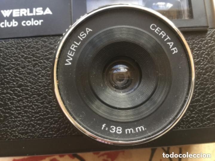 Cámara de fotos: CAMARA FOTOS WERLISA CLUB COLOR CON FLASH KONIN 220 - Foto 2 - 130636494