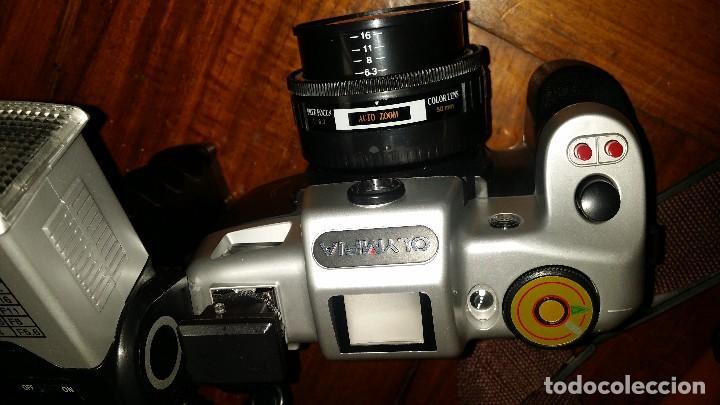 Cámara de fotos: Olympia + maletin + flash - Foto 6 - 122776963