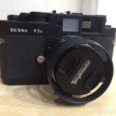 Cámara de fotos - Voigtlander Bessa R3a con Nokton 1.4/40mm S.C. Classic montura Leica m - 122858043