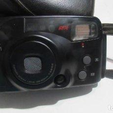 Cámara de fotos: + ANTIGUA CAMARA CANON SURE SHOT CON FUNDA. Lote 125497383
