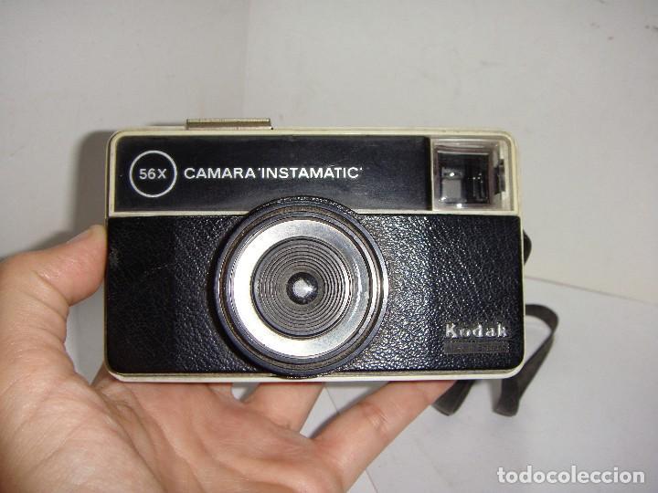 Cámara de fotos: Cámara fotográfica. KODAK (made in England). CÁMARA INSTAMATIC. 56X. - Foto 4 - 126539603