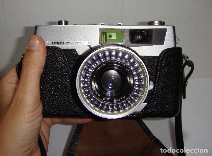 CÁMARA FOTOGRÁFICA PETRI 7 S ( 1962 ). (Cámaras Fotográficas - Clásicas (no réflex))