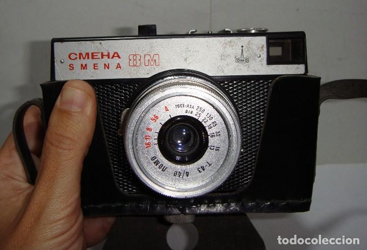 Cámara de fotos: ANTIGUA CAMARA FOTOGRÁFICA SOVIÉTICA CMEHA SMENA LOMO 8M. - Foto 3 - 126549443