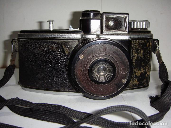 ANTIGUA CÁMARA FOTOGRÁFICA. (Cámaras Fotográficas - Clásicas (no réflex))