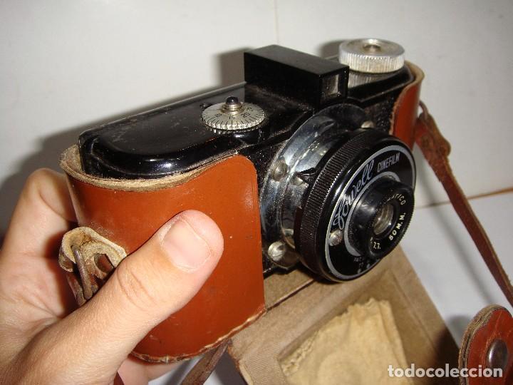 Cámara de fotos: Cámara fotográfica. FOWELL CINEFILM 35 mm BAQUELITA CON FUNDA ORIGINAL - Foto 2 - 126549971