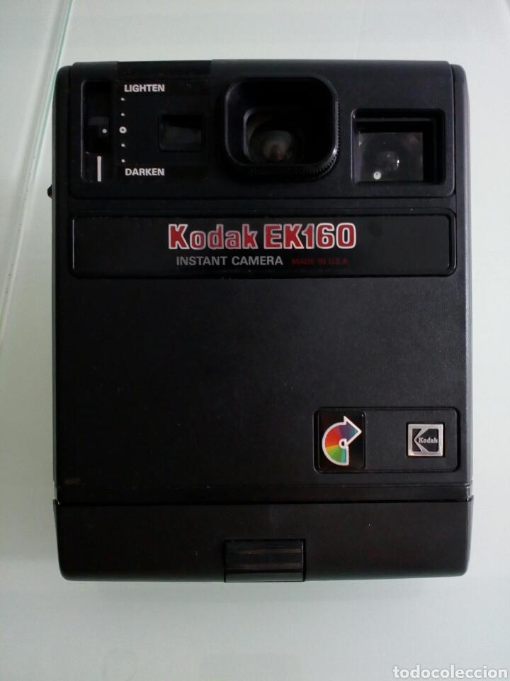 CÁMARA KODAK EK160, AÑOS 80 (Cámaras Fotográficas - Clásicas (no réflex))