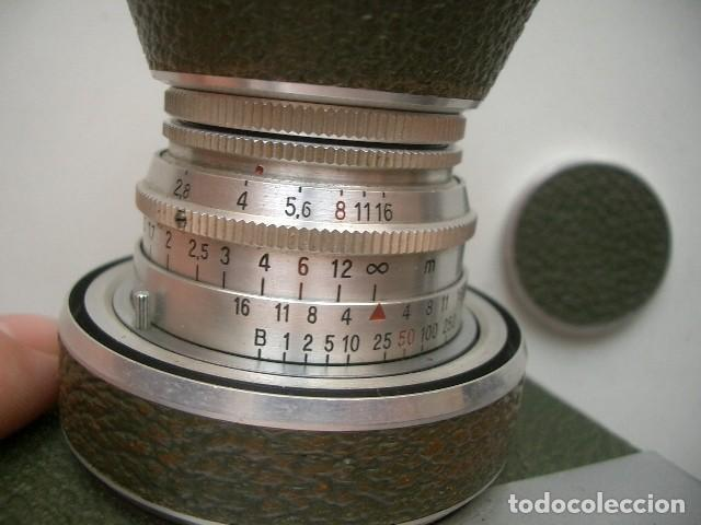 Cámara de fotos: Cámara Fotográfica Carl Zeiss Jena, Werra/ Tessar 2.8 - Foto 12 - 128703355