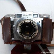 Cámara de fotos: CAMARA FOTOGRAFICA BRAUN PAXETTE, CON SU FUNDA DE CUERO. Lote 128758987