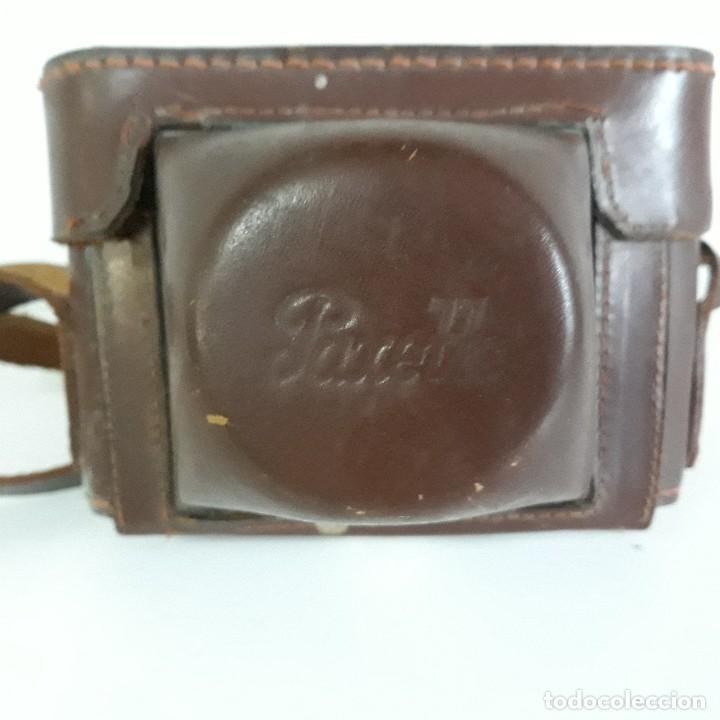 Cámara de fotos: Camara fotografica Braun Paxette, con su funda de cuero - Foto 2 - 128758987