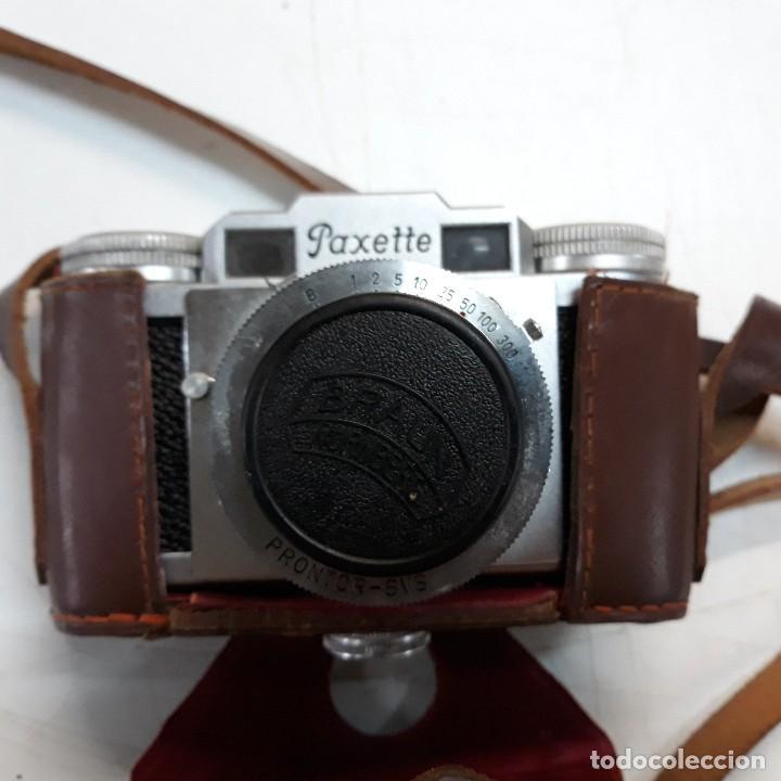 Cámara de fotos: Camara fotografica Braun Paxette, con su funda de cuero - Foto 3 - 128758987