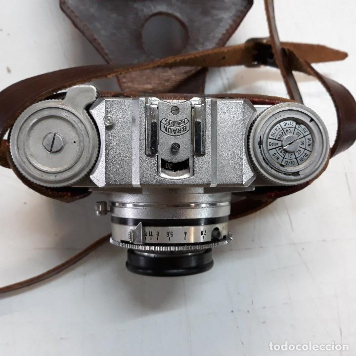 Cámara de fotos: Camara fotografica Braun Paxette, con su funda de cuero - Foto 4 - 128758987