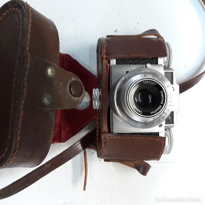 Cámara de fotos: Camara fotografica Braun Paxette, con su funda de cuero - Foto 6 - 128758987