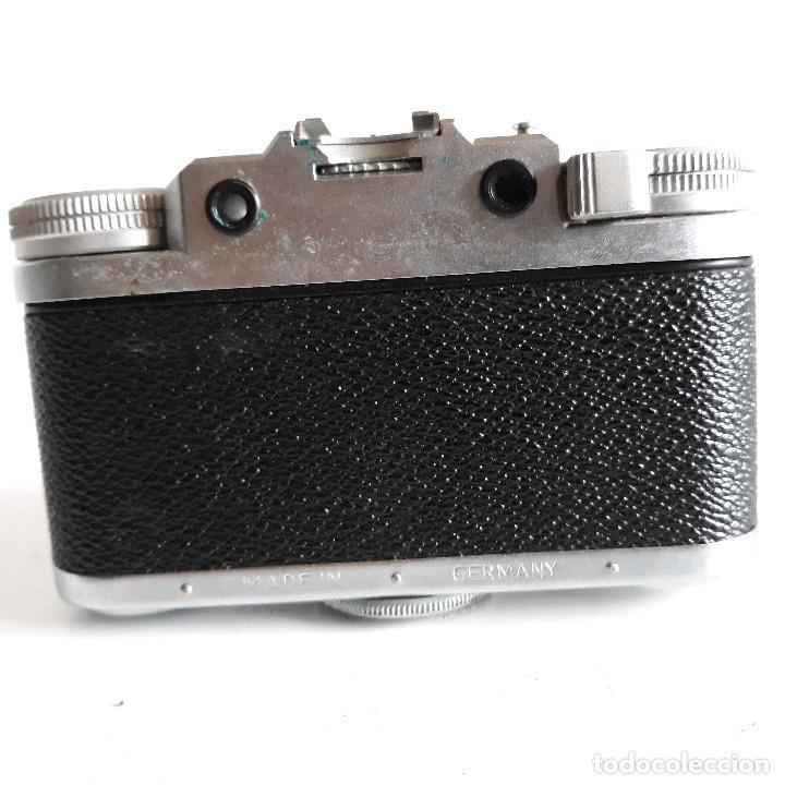 Cámara de fotos: Camara fotografica Braun Paxette, con su funda de cuero - Foto 7 - 128758987