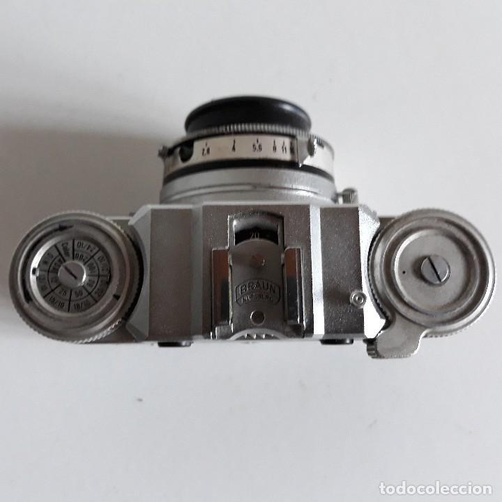 Cámara de fotos: Camara fotografica Braun Paxette, con su funda de cuero - Foto 8 - 128758987