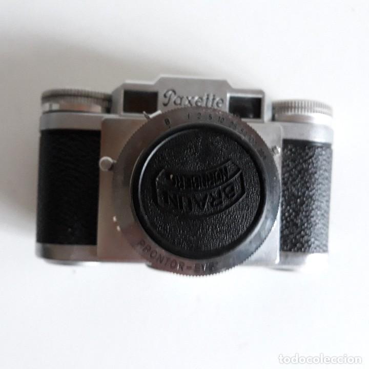 Cámara de fotos: Camara fotografica Braun Paxette, con su funda de cuero - Foto 9 - 128758987