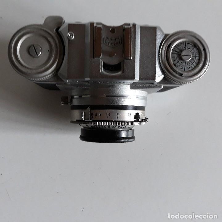 Cámara de fotos: Camara fotografica Braun Paxette, con su funda de cuero - Foto 10 - 128758987
