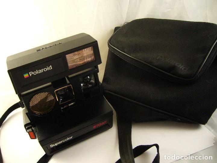 Cámara de fotos: CÁMARA DE FOTOS POLAROID SUPERCOLOR 670 AF - Foto 13 - 128973591