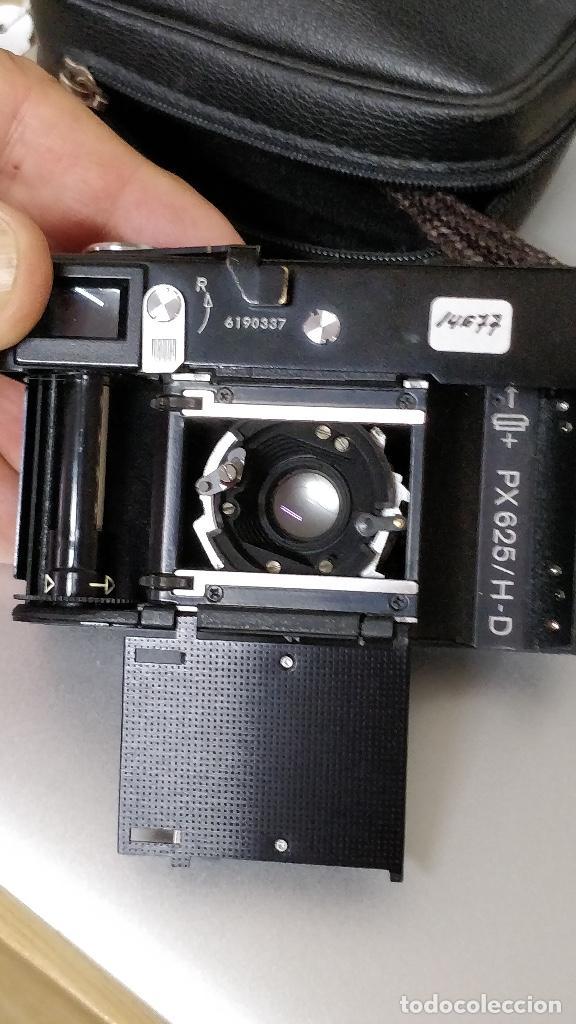 Cámara de fotos: Cámara fotográfica ROLLEI 35 (Negro) con funda original. fotómetro. - Foto 10 - 129427455