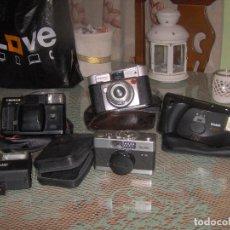 Cámara de fotos: LOTE DE 4 CAMARAS FOTOGRAFICAS. Lote 126802191