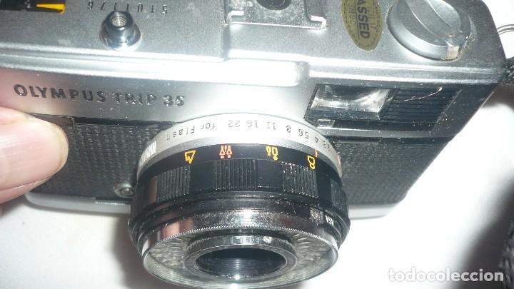 Cámara de fotos: Cámara OLIMPUS TRIP 35 (Made in Japan) - Foto 4 - 129962727