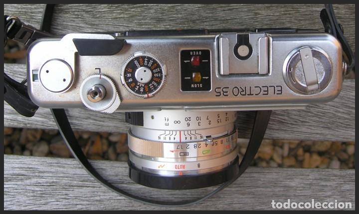 Cámara de fotos: Cámara Yashica GSN....LENTE.....COLOR-YASHINON DX 1:1.7 F=45 mm....sin pila - Foto 5 - 145172658