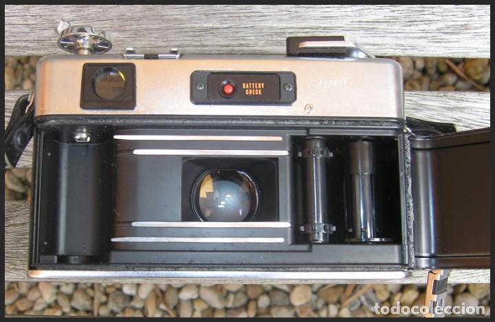 Cámara de fotos: Cámara Yashica GSN....LENTE.....COLOR-YASHINON DX 1:1.7 F=45 mm....sin pila - Foto 7 - 145172658