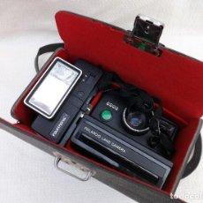 Cámara de fotos - CAMARA FLOTOGRAFICA POLAROID 2000 LAND CAMERA CON FLASH POLATRONIC + ESTUCHE - 131226515